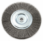 Forney Industries 72747 Crimped Wire Wheel Brush, 6-In.