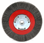 Forney Industries 72751 Fine Crimped Wire Bench Wheel Brush, 6-In.
