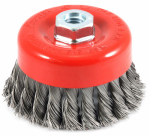 Forney Industries 72753 Knotted Wire Cup Brush, 4-In.