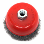 Forney Industries 72754 Crimped Wire Cup Brush, 5-In.