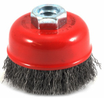 Forney Industries 72755 Crimped Wire Cup Brush, 2.75-In.