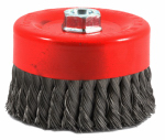 Forney Industries 72756 Knotted Wire Cup Brush, 6-In.