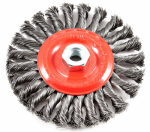 Forney Industries 72758 Twist-Knot Wire Wheel Brush, 6-In.
