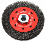 Forney Industries 72788 Crimped Wire Wheel Brush, Coarse, 4-In.