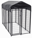Jewett Cameron CL 60548 Uptown Pet Kennel, Welded Wire, 6 x 4 x 8-In.