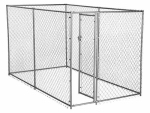 Jewett Cameron CL 61028EZ Champion Dog Kennel, Box Chain Link, 10 x 5 x 6-Ft.