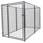 Jewett Cameron CL 66150 Pro Breeder Modular Dog Kennel, Pre-Assembled, 6 x 5 x 10-Ft.
