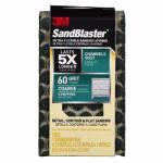 3M 20909-60-UFS Sandblaster Sanding Sponge, Flexible, 60-Grit