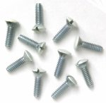 Pass & Seymour 510WCC20 Wall Plate Replacement Screws, White