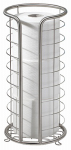 Interdesign 27160 Forma Toilet Tissue Reserve Holder, Stainless Steel