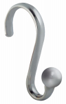Interdesign 55870 Shower Curtain Hooks, Chrome, 12-Pk.