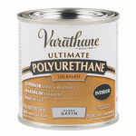 Rust-Oleum 9161H Varathane 1/2-Pint Satin Interior Oil-Based Premium Polyurethane