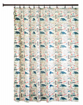 Interdesign 48220 Shower Curtain, Maritime, Polyester, 72 x 72-In.
