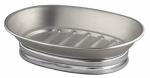 Interdesign 76050 York Bath Soap Dish, Split Metal