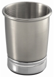 Interdesign 76150 York Bath Tumbler, Polished/Brushed Silver
