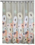 Interdesign 45820 Shower Curtain, Wild Flower, Polyester, 72 x 72-In.