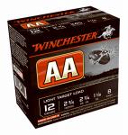 Winchester Ammunition AA128 25RND 12GA #8 Targ Load