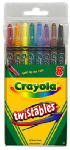 Crayola 52-7408 8-Count Twistable Crayons