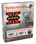 Winchester Ammunition X413RS5 Ammunition, Super-X Rifled Slug, .410 Bore, 3-In., 5-Rounds