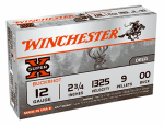 Winchester Ammunition XB1200 Ammunition, Super-X Buckshot #00, 12-Ga., 2.75-In., 9 Pellet, 5-Rounds