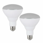 Feit Electric BR30DM650/LEDG2/TV/2 LED Indoor Floodlight Bulbs, Dimmable, 10-Watt, 650 Lumens, 2-Pk.