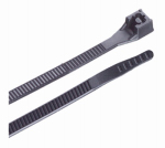 Gardner Bender 45-308UVBFZ Xtreme Temperature Cable Ties, Black, 8-In., 20-Pk.