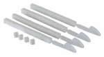 Gardner Bender BB-C01 Bundle Boss Cable Tie Lock Clips, White, 100-Pk.