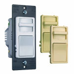 Pass & Seymour WS703PTCCCV6 Incandescent Dimmer Switch, Preset, Wide-Slide, 700-Watt