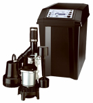 Pentair Water FPCC3320 Sump Pump Battery Back-Up System, 1/3-HP Motor, 12-Volt