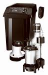 Pentair Water FPCC5030 Sump Pump Battery Back-Up System Virtual Monitoring, .5-HP Motor, 12-Volt