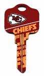 Kaba Ilco KCKW1-NFL-CHIEFS KW1 Chiefs Team Key