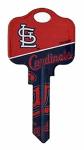 Kaba Ilco KCSC1-MLB-CARDINALS SC1 Cardinals Team Key