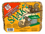C & S Products 06205 Squirrel Snak Bird Food Cake, 2.7-Lbs.