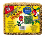 C & S Products 06206 Woodpecker Snak Bird Food Cake With Suet Nuggets, 2.4-Lbs.