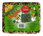 C & S Products 06208 Fruit & Nut Bird Food Snak With Suet Nuggets, 2-1/4-Lb.