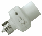 Southwire/Coleman Cable 59406 Light Control Socket With Programmable Timer, Indoor Only