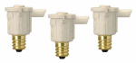 Southwire/Coleman Cable 59416 Candelabra Photocell Sensors, Indoor/Outdoor, 3-Pk.