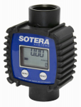 Tuthill FR1118P10 In-Line Digital Meter, 3 to 26 GPM, 70 PSI