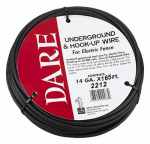 Dare Products 2212 Electric Fence Underground and Hook-Up Wire, Double Insulated, 14-Ga.,165-Ft.
