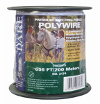Dare Products 3174 Electric Fence Wire, White, 656-Ft.