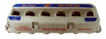 Harris Farms 1230 Egg Carton, Paper, Holds 1 Dozen