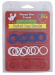 Happy Hen Treats 17022 Poultry Spiral Leg Bands,  3 Colors, Size 11, 26-Ct.