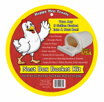 Happy Hen Treats 17032 Poultry Nest Box Bucket Kit