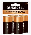 "Duracell Distributing Nc MN1300R4Z Alkaline Batteries, ""D"", 4-Pk."