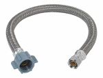 Brass Craft Service Parts PSB832 Faucet Water Supply Line, 3/8 Compression x .5 IP x 16-In.