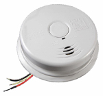 Kidde Plc 21010407-A Smoke Alarm, AC/DC Powered, 10-Year Worry Free