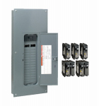 Square D By Schneider Electric HOM3060M200PCVP Main Breaker Installed Load Center, 200-Amp.