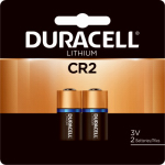 Duracell Distributing Nc 01310 Lithium Photo Battery, CR2, 3-Volt, 2-Pk.
