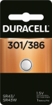Duracell Distributing Nc 11009 DURA1.5V 301/386Battery