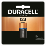 Duracell Distributing Nc 11210 Lithium Photo Battery, 123, 3-Volt
